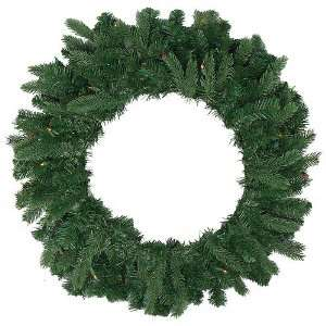 36 Pre lit Natural Frasier Fir Artificial Christmas Wreath   Multi