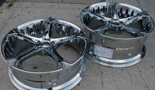GIOVANNA DALAR 5V 20 CHROME RIMS WHEELS S320 STAG