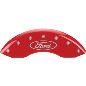 MGP Caliper Covers (Front Only, Licensed Logo) Ford Focus