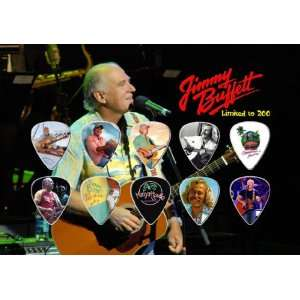 Jimmy Buffett Guitar Pick Display Limited 200 Only