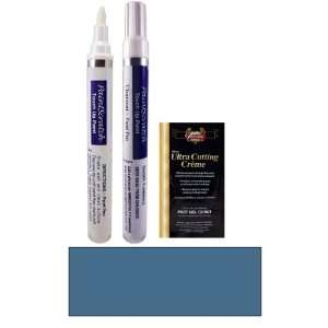 Oz. Blazing Blue Metallic Paint Pen Kit for 2010 Toyota Yaris (8T0