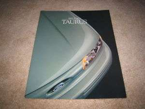 1995 Ford Taurus SHO LX SE GL sedan wagon sales brochure dealer