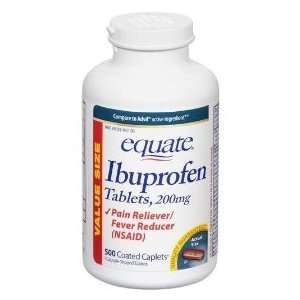 Equate   Ibuprofen Pain Reliever/fever Reducer 200 Mg, 500