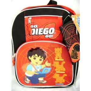 Dora the Explorer Diego Large Backpack tote Bag Toys & Games