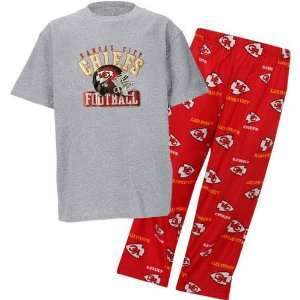 Kansas City Chiefs NFL Youth Short SS Tee & Printed Pant