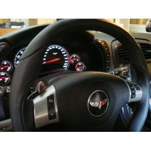 Corvette C6 Sport Steering Wheel, Black Leather