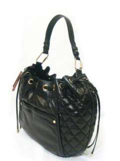 NWT JUICY COUTURE Pacific Hobo Black Genuine Soft Leather Bag Purse