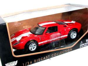 MotorMax Ford GT Concept Red 1/24 Diecast cars Model