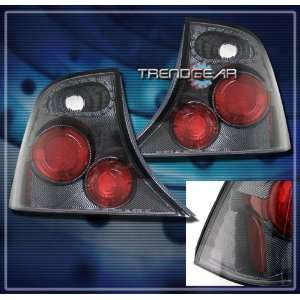 Ford Focus 4Dr Tail Lights Carbon Altezza Taillights 2000