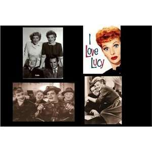 Love Lucy, Lucille Ball Magnets, Set of Four  Kitchen