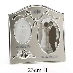 Photo Frame, 25th Silver Wedding Anniversary Gift