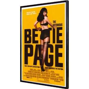 Notorious Bettie Page, The 11x17 Framed Poster