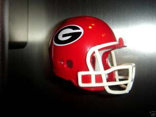 FRIDGE REFRIGERATOR FOOTBALL HELMET MAGNET GEORGIA BULLDOGS
