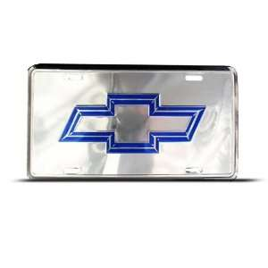 Chevy Bow Tie Metal Novelty Car Auto License Plate Wall