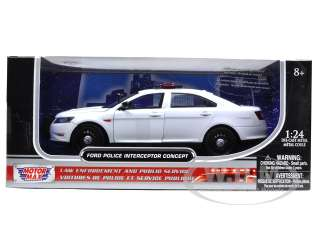 Brand new 124 scale diecast model of Ford Police Concept Unmarked