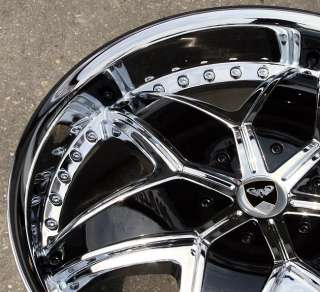 GWG G33 20 CHROME RIMS WHEELS 2008 up CADILLAC CTS