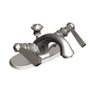 Rubinet Faucets 1HRBHXL Single Hole Lavatory Set with 4
