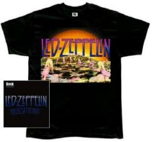Led Zeppelin Houses of the Holy black t shirt Clothing