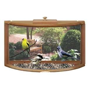 Songview In House Window Bird Feeder with Mirrored Panel