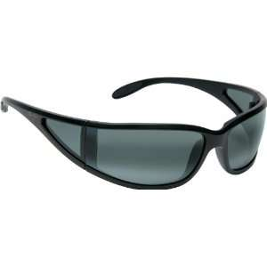 Maui Jim Offshore 444 Sunglasses, Black / Grey Lens, Sunglasses