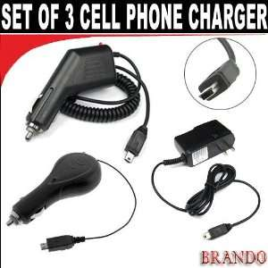 Cell phone combo pack, 1 car charger,1 Retractable car
