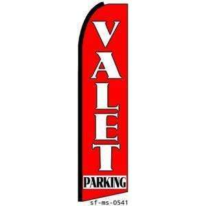 Valet Parking Extra Wide Swooper Feather Business Flag