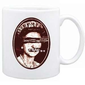 New  American Pit Bull Terrier  Dog Save The Queen  Mug