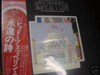Led Zeppelin Live Mini Replica JPN OBI LP in a CD