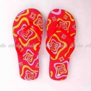 Rainbow Flip Flops Slippers Thong Shoes Sandals 1L56