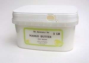 LB PURE RAW EXPELLER PRESSED ORGANIC MANGO BUTTER