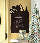 Tote Shopping Bag Chalkboard Chalk Board Wall Instant Removable