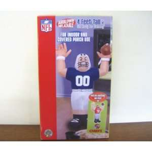 INFLATABLE KANSAS CITY CHIEFS FOOTBALL PLAYER 4 FT