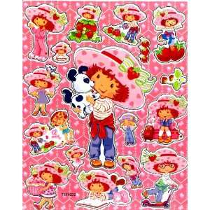 Strawberry Shortcake and pet dog Sticker Sheet TM0232
