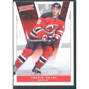 com 2010/11 Upper Deck Victory Hockey # 118 Travis Zajac Devils / NHL