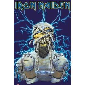 Iron Maiden Chains Hard Rock Heavy Metal Music Poster 24 x 36 inches