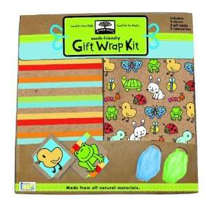 Green Start Gift Wrap Kits Backyard Babies   From Earth