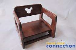 Disney Parks Restaurant Mickey Mouse Wood Childs Baby Booster Seat