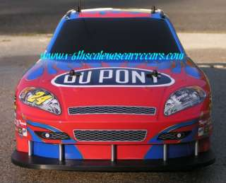 Team Up International Nascar RC car body shell #88 Dale Jr. Amp Energy
