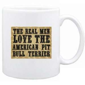 New  The Real Men Love The American Pit Bull Terrier