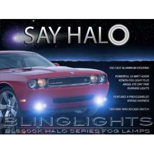 2012 Dodge Challenger Blue Halo Fog Lights Kit Car