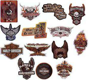 HARLEY DAVIDSON MOTORCYCLES STICKER DECAL STICKERS NEW