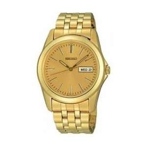 Seiko Gold Tone Date/Day Mens Watch SGG698 Everything