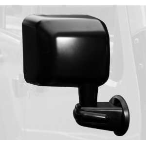 Rugged Ridge 11002.12 Black Passenger Side View Mirror for