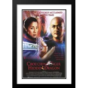 Crouching Tiger Hidden Dragon 32x45 Framed and Double Matted Movie