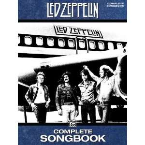 Alfred Led Zeppelin Complete Songbook Musical Instruments