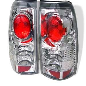 99 02 Chevy/GMC Silverado Euro Taillights   Chrome Automotive