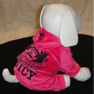 C9 Cute Pet Dog Clothes Apparel Sportsuit Hoodie Hot Pink