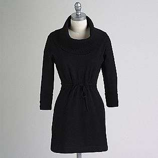 Womens Cowl Neck Sweater Dress  Apostrophe Clothing Womens Dresses