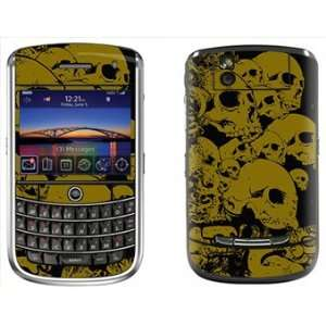 Skulls Skin for Blackberry Tour 9630 Phone Cell Phones & Accessories