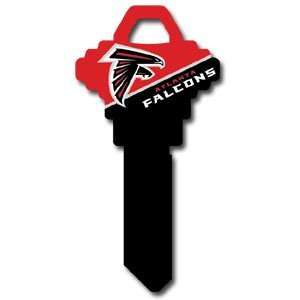 Atlanta Falcons Schlage Team key   NFL Football Fan Shop Sports Team